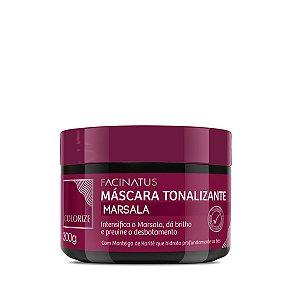 Máscara Tonalizante Marsala - 300g Facinatus