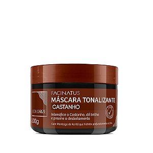 Máscara Tonalizante Castanho - 300g facinatus