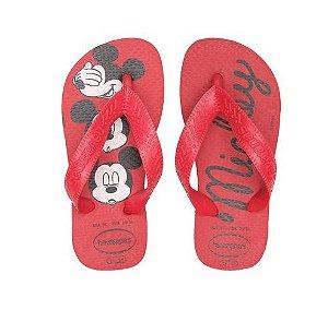 Chinelo Havaianas Kids Top Disney Mickey 23/24