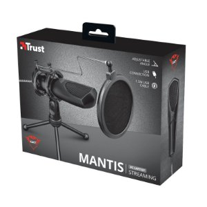 Microfone GXT 232 Mantis USB Streaming Microphone Trust