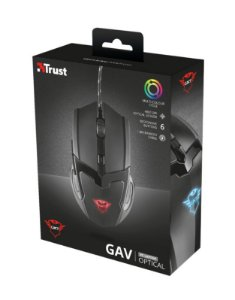 Mouse Gamer GXT 101 GAV Gaming Mouse - black Trust