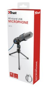 Microfone USB Microphone for PC and laptop Trust