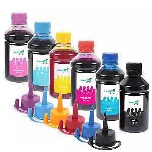 Kit 6 Tintas para Epson L850 250ml Inova Ink Pigmentadas