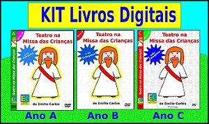 Kit Livros Digitais Teatro na Missa e Catequese