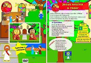 DVD Jesus ensina a rezar