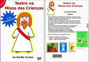 DVD-livro Teatro na Missa das Crianças e na Catequese - Ano B