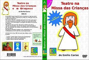 DVD-livro Teatro na Missa das Crianças e na Catequese - Ano A