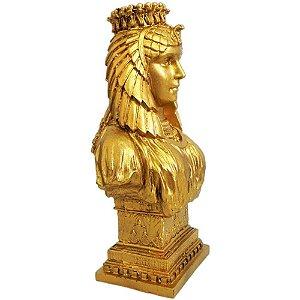 Deusa Ísis Busto Dourado