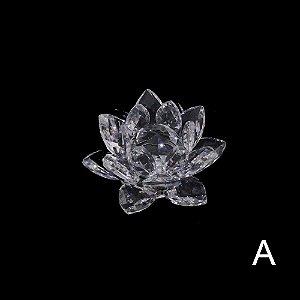 Flor de Lótus Cristal Pequena