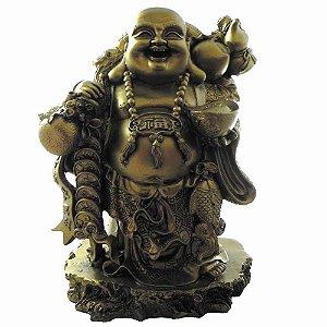 Buda da prosperidade dourado Grande
