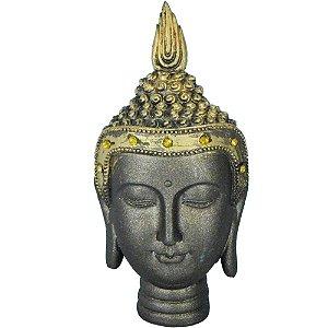 Cabeça de Buda com Strass