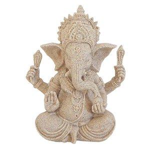 Ganesha Proteção e Poder em Areia