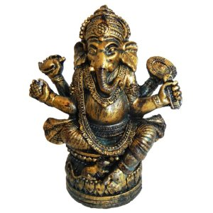 Ganesha Dourado envelhecido