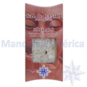 Sal de Banho aromatizado - Sândalo - 100g