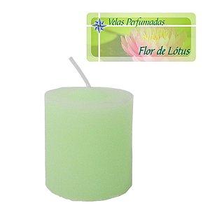 Kit 3 Velas Perfumadas de 1 dia - Aroma Flor de Lótus
