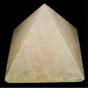 Pirâmide Quartzo Rosa Polida Qualidade Extra