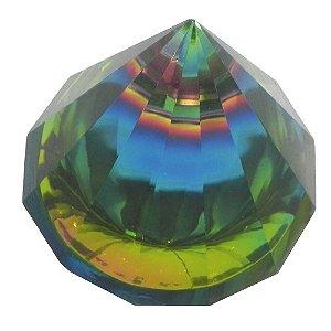 Pirmâmide de vidro Colorida M