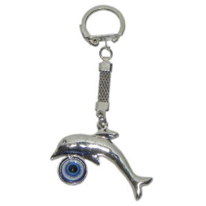 Chaveiro Golfinho olho grego