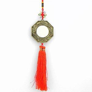 Talismã feng-shui Yin-Yang Com espelho