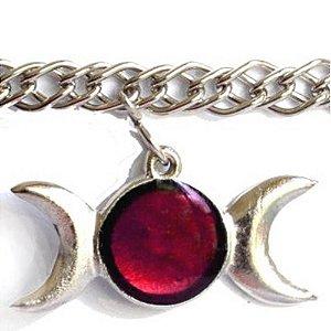 Circlet Triluna vermelho
