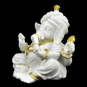Ganesha em resina de mármore