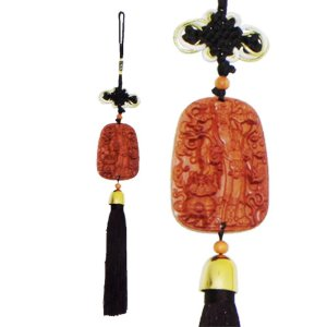 Talismã com pendulo do Cai Shen