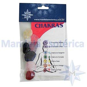 Kit 7 Pedras do Chakras