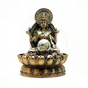 Fonte Lakshmi com Bola de Luz Bivolt