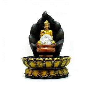 Fonte Buda na Folha com Bola de Luz Bivolt