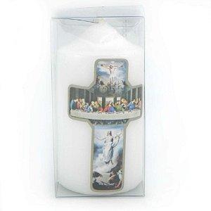 Vela de devoção Santa Ceia 140g
