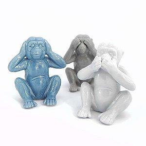 Trio de macacos sábios
