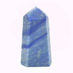 Ponta de quartzo azul