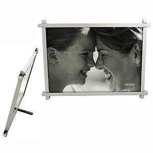 Porta Retrato Alumínio 13 x 18cm