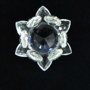 Flor de Lótus Cristal - P