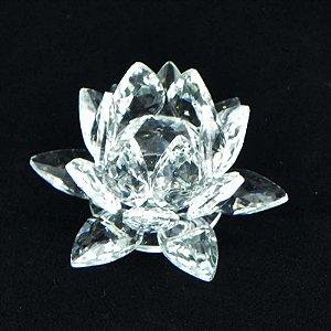 Flor de Lótus Cristal - M