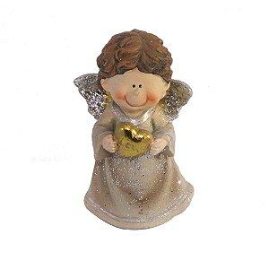 Anjo do amor com coração