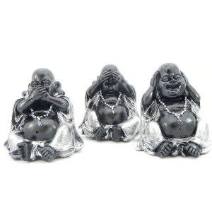 Kit 3 Budas da sabedoria