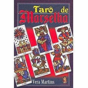 Livro Tarô de Marselha + cartas