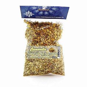 Banho de Camomila pacote com 50 gramas
