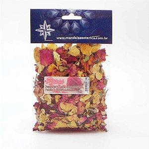 Rosas pacote com 25 gramas