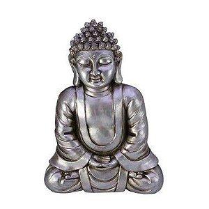 Buda Para Parede Prata