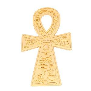 Cruz Ansata Ouro -  Pantáculo