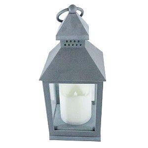 Porta Vela lanterna farol - cinza