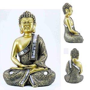 Buda Dourado em Meditação