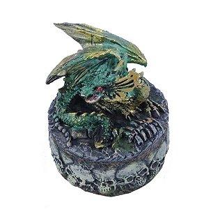 Porta Jóias Dragão Verde - REF-121268B