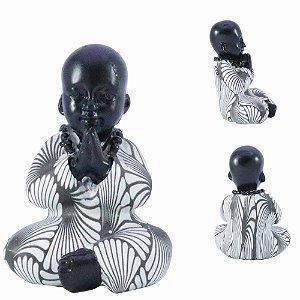 Buda de Resina em Oração RF-126697A