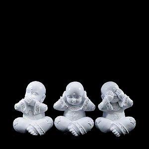 Kit com 3 monges : Não fala, não ouve e não vê