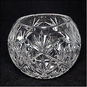 Vaso Cristal Cachepo Pequeno