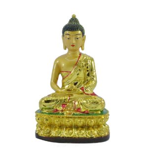 Buda Dourado Meditando