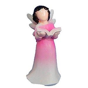 Anjo sem rosto criança - Rosa